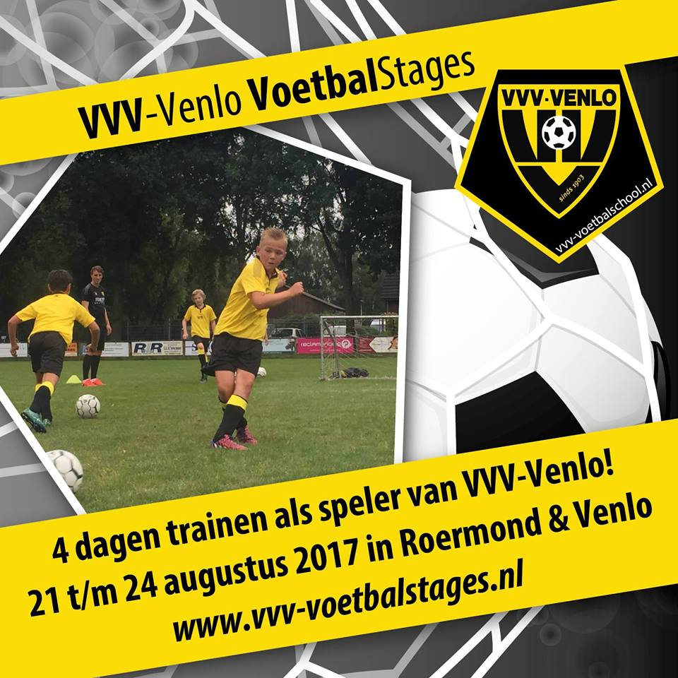 voetbalstages zomer 17